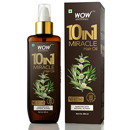 WOW 10 in1 Miracle No Parabens & Mineral Oil Hair...
