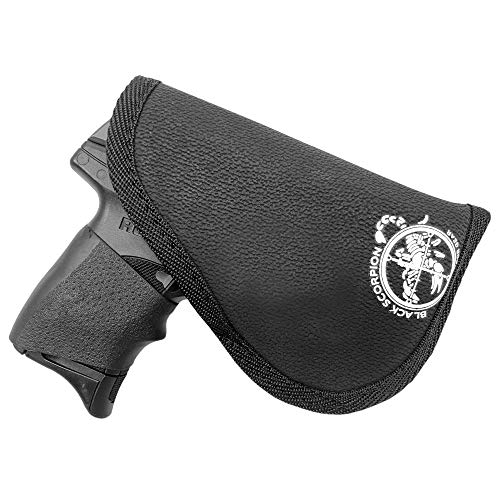 Black Scorpion Outdoor Gear Multi-Gun Body Grip Holster fits Small 9mm w/Light or Laser up to 3.3'' BBL