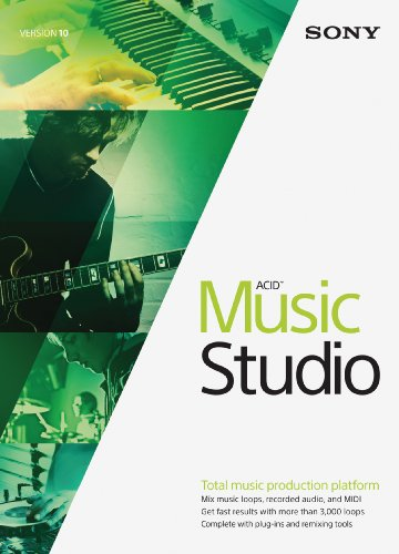 Sony ACID Music Studio 10 DAW Software Review