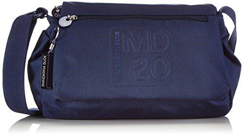 Mandarina Duck MD20 DRESS 14216TT6, Borsa a tracolla Donna, Blu (Blau (Blue)), 17x28x34 cm (L x A x P)