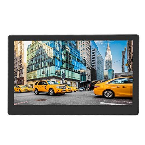 Monitor portátil de 11,6 pulgadas, conjunto de pantalla táctil LED 1080P Monitor Mini PC, conector de audio de 3,5 mm con salida de audio HDMI Altavoz de alta fidelidad integrado de 5 W doble, para Ra