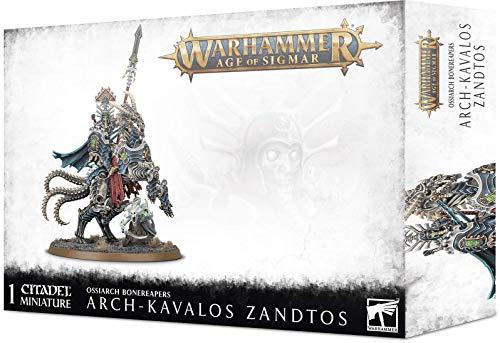 Games Workshop Warhammer AoS - Ossiarch Bonereapers Arch-Kavalos Zandtos Dark Lance of Ossia
