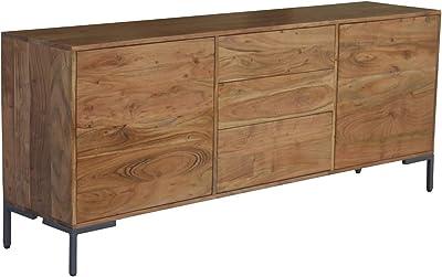 Massives Baumstamm Sideboard Genesis 170 Cm Akazie Massivholz