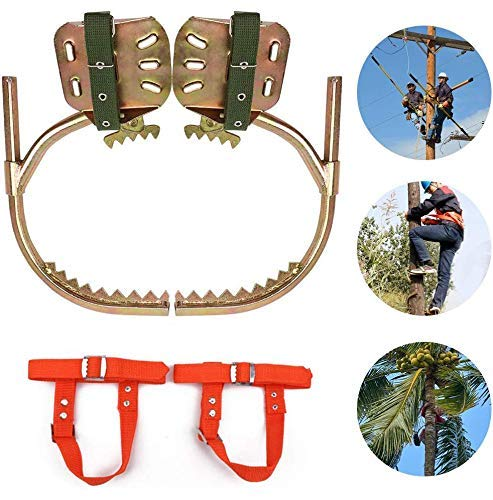 Fibbia del piede di palo in legno, arrampicata S, elettricista artigianale degli alberi fibbia del piede, strumento di arrampicata degli alberi, per la caccia osservazione, raccolta della frutta, semp