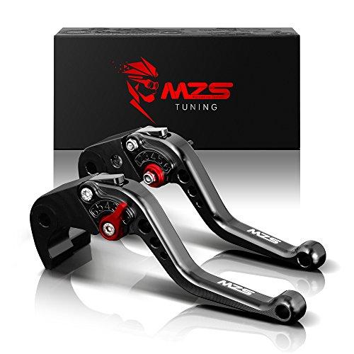 MZS Leve Freno Frizione Set Corta Compatibili 400 Monster 2004-07 | 620 Monster/MTS 2003-06 | 695 Monster 2007-08 | 696 Monster 2009-2014 | 796 Monster 2011-14 | Monster S2R 800 2005-07 Nero