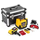 FORAVER Rotary Laser Level Red Beam Self Leveling Measuring Automatic Rotating Laser Level