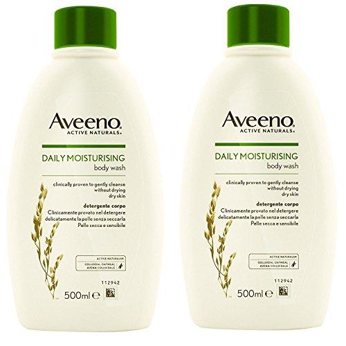 Aveeno 2 PACK Body Wash 500ml by Aveeno