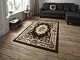 Think Rugs–Alfombra 180x 270cm Alfombra de Marrakech, Color marrón