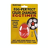 Burton Egg-Perfect Heat Sensitive Color Changing Egg Timer by Scandicrafts