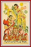 PostersAndCo Cordoba Fiesta 1957 Rdrf-Poster/Kunstdruck, 40
