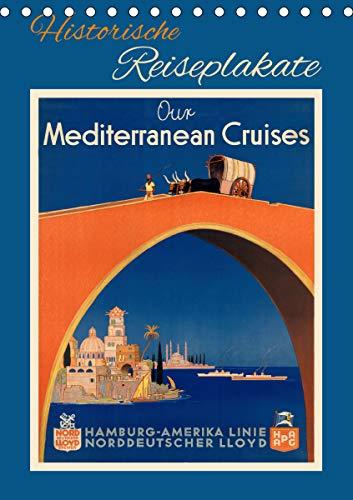Historische Reiseplakate (Tischkalender 2021 DIN A5 hoch)