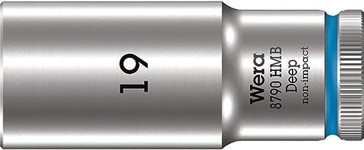 """Wera 05004541001 8790 HMB Deep nasadka klucza nasadowego 3/8"""", niebieska, 19,0 mm"""