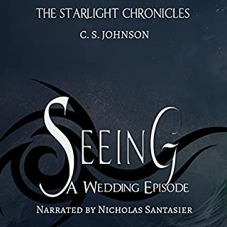 Seeing audiobook cover art