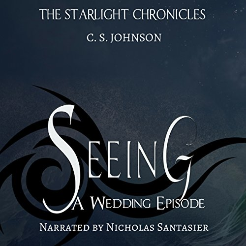 Seeing audiobook cover art
