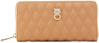 ALDO womens ALDO Women s Gima Wallets Bags, Light Brown, WALLET US
