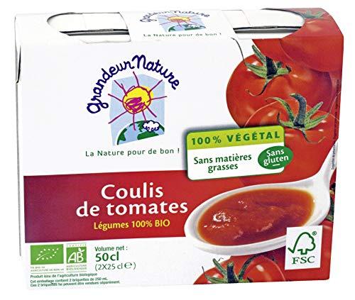 GRANDEUR NATURE Coulis de Tomates Bio - 2x30cl