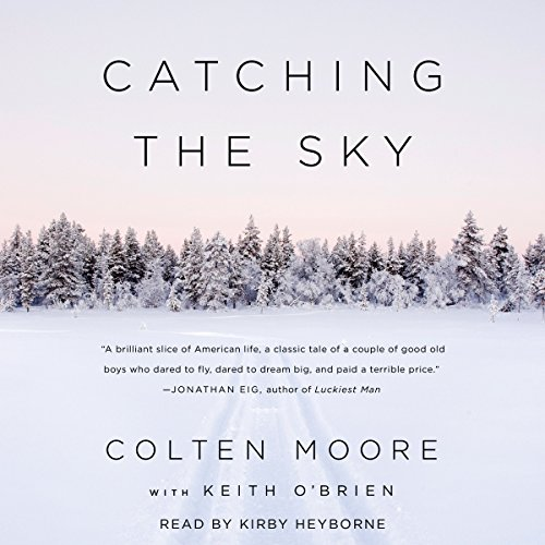 Catching the Sky audiobook cover art