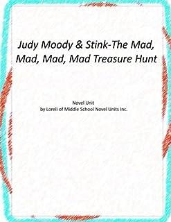 Novel Unit for Judy Moody & Stink-The Mad, Mad, Mad, Mad Treasure Hunt
