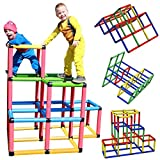 Funphix Climbing Gyms- STEM Learning Colorful Buildable Indoor Outdoor Play Structure for Kids Aged...