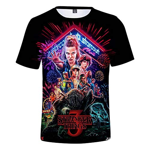 ZIGJOY Strangers TV Camiseta Unisex Camiseta Top Impresa en 3D One Summer Can Change Everthing Movie Q3664-S