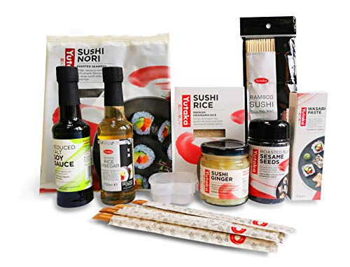 Set di 10 kit per sushi fai da te per sushi, set completo per sushi, confezione da premium.