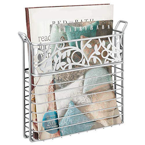 Top 10 best selling list for wall mounted magazine rack bathroom brushed nickel