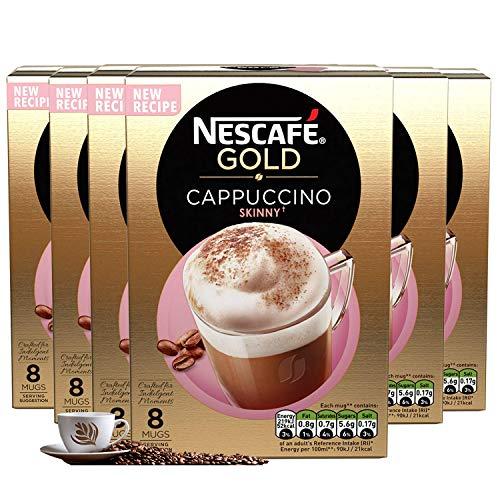 Nescaf? Caf? Menu Cappuccino Skinny 14.5 g (Pack of 6, Total 60 Units)