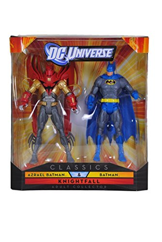 DC Universe Collector Classics Exclusive Knightfall - Azrael Batman & Batman 2 Pack
