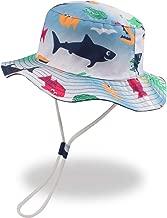 XIAOHAWANG Baby Sun Hat Boys Girls Toddler Summer Bucket Outdoor Child Beach Caps UPF 50+ for 3 Months-4 Years