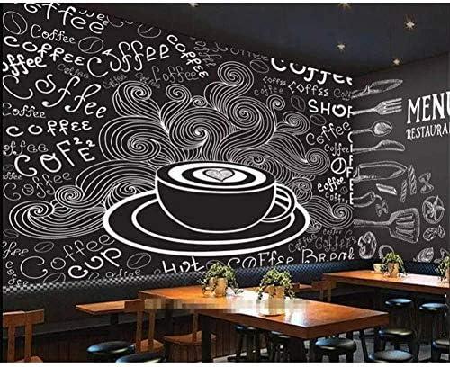 Coffee shop wallpaper _image4