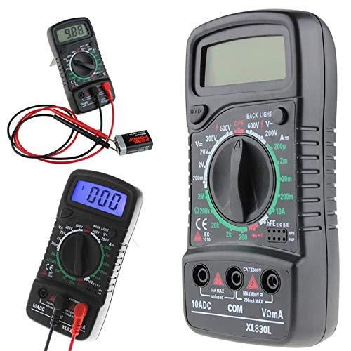 Best Prices! XL-830L Digital LCD Multimeter Voltmeter Ammeter AC/DC/OHM Volt Current Tester