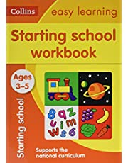 Starting School Workbook: Ages 3-5: Reception Maths and English Home Learning and School Resources from the Publisher of Revision Practice Guides, Workbooks, and Activities.