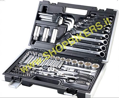 WERKZEUGSATZ Profi-Schraubenschlüssel-Set (in Zoll), für Harley Davidson / Sportster / Dyna / Softail, 92-teilig