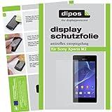 dipos I 2X Schutzfolie matt kompatibel mit Sony Xperia M2 Folie Bildschirmschutzfolie