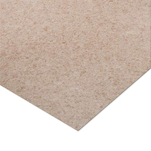 casa pura® CV Bodenbelag Celine | Beige | edle Steinoptik | Oberfläche strukturiert | Meterware (200x150cm)