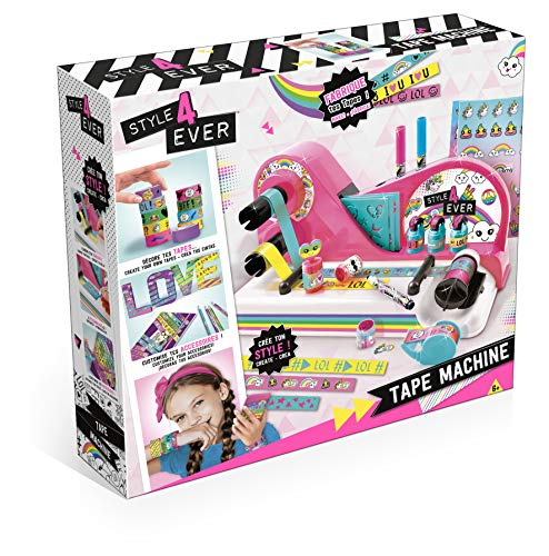 Ct - Only For Girls - Kit Creativo, máquina de Cinta (CT28518)