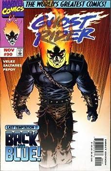 "Comic Ghost Rider #90 ""Death of Lau Tak Wah"" Book"