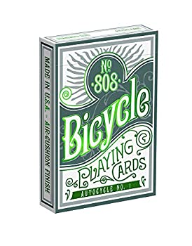 Bicycle Autocycle No 1 Green Playing Cards
