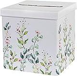 Geld-Box Brief-Box Kuvert-Kiste Hochzeits-Post Botanical
