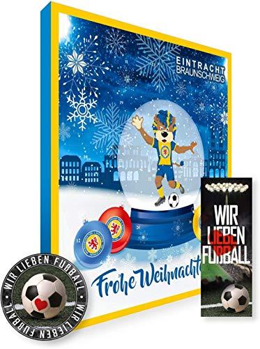 Eintracht Braunschweig Premium Weihnachtskalender Adventskalender mit Poster
