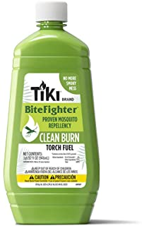 Best TIKI Brand Clean Burn BiteFighter Torch Oil, 32 Ounce Review