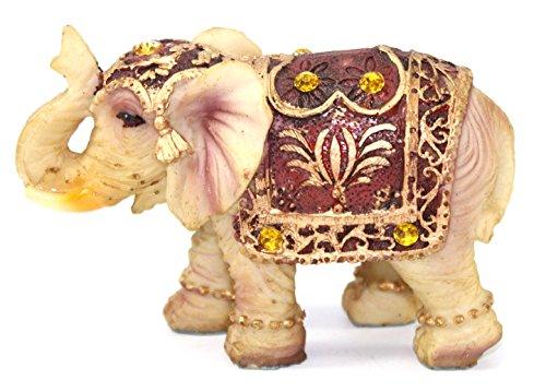 Feng Shui Vintage 3 (H) Elephant Wealth Lucky Figurine Home Decor Housewarming Gift