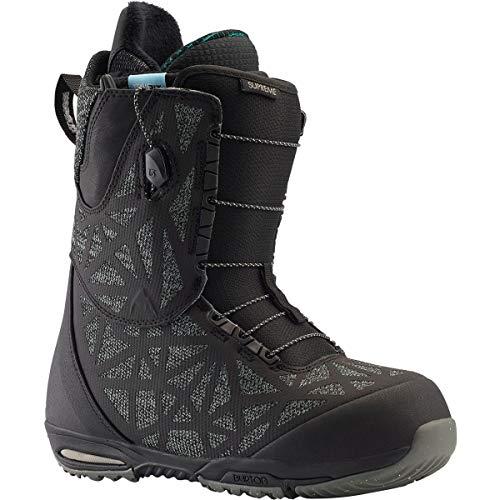 Burton Supreme Snowboard Boot Black 1 9 B (M)