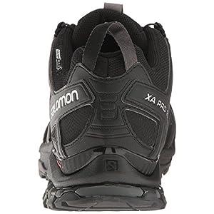 Salomon Men's XA Pro 3D ClimaShield Waterproof Trail Running Shoe, Black/Black/Magnet, 11 M US