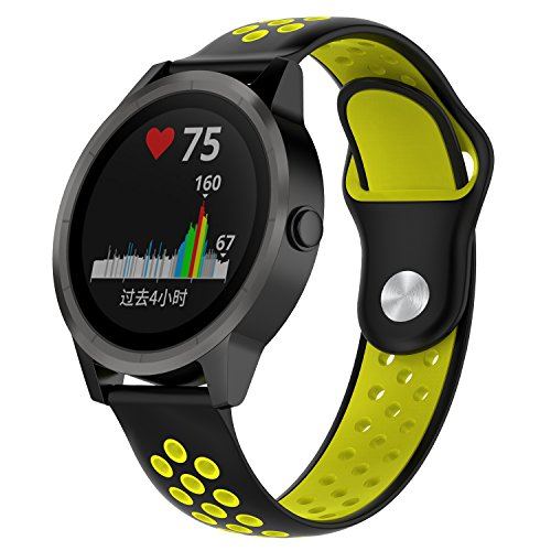 Feibands Garmin vivoactive 3 - Correa de Repuesto Colorida para Garmin vivoactive3/Vivomove HR/Vivomove/Vivoactive 3 Music, Colour2