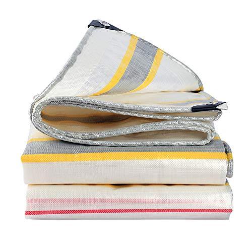 WXQIANG Pantalla de tela - tela impermeable al aire libre Espesar de la lon - Protector solar resistente al agua visera lona - Selección de varios tamaños - 0,38 mm Grueso Protección solar, aislamient