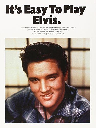 It's Easy To Play Elvis (PVG): Noten für Klavier