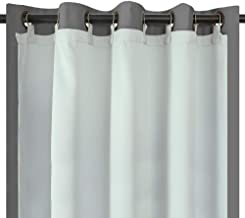 Melodieux Thermal Insulated Blackout Curtain Liner for 84 Inch Length Curtains, 50 by 80 Inch, 1 Panel, Rings Included