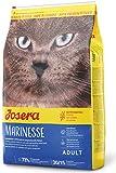 JOSERA Marinesse, getreidefreies Katzenfutter mit Lachs, hypoallergen, Super Premium Trockenfutter, 1er Pack (1 x 10 kg)
