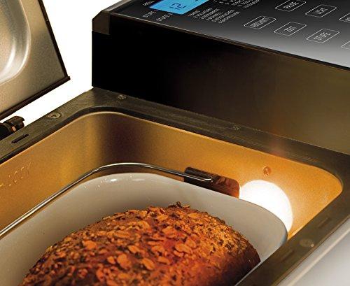 UNOLD Brotbackautomat Backmeister Top Edition, 615 W, 750-1200g Brotgewicht, Keramik-Beschichtung, 68415 - 4
